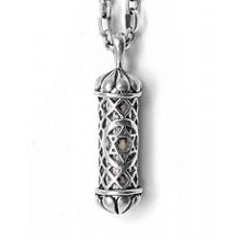 Filigree Mezuzah Necklace