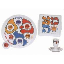 Porcelain Passover Seder Set - Art