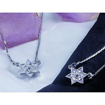 Petite Star of David Necklace