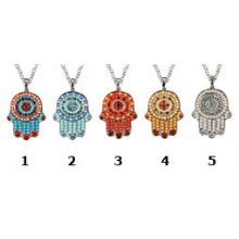 Crystal Beads Israel Jewelry - Hamsa