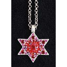 Beaded Star of David Necklace
