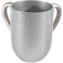 Anodized Aluminum Wash Cup by Emanuel - Silver