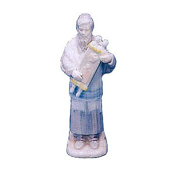Porcelain Figurine - Rabbi with Torah