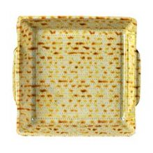Disposable Plastic Matzah Plates - 1 Dozen