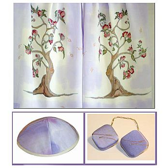 Fine Silk Tree of Life Tallis Set