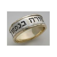 14K Gold & Sterling Silver Wedding Band - Soulmate