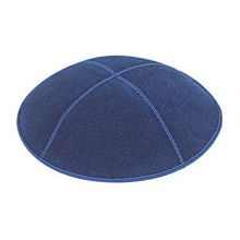 Dark Royal Suede Kippot