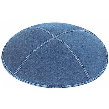 Denim Suede Kippot