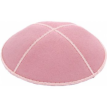 Light Pink Suede Kippot