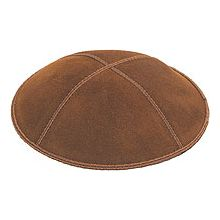 Luggage Suede Kippot