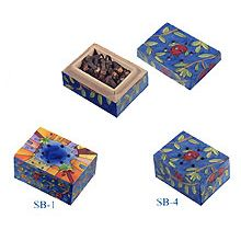 Small Wooden Spice Box Collection