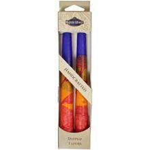 2 Pack Safed Taper Candle - Harmony Blue