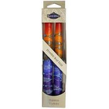 2 Pack Safed Taper Candle - Rainbow Red