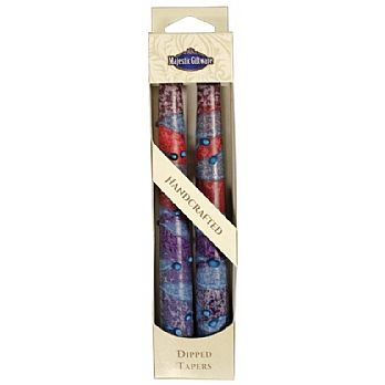 2 Pack Safed Taper Candle - Sunrise Purple