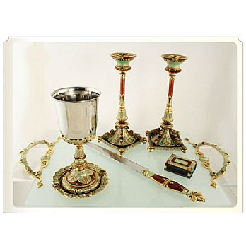Exquisite Shabbat Tableware Set - Stanley