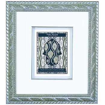 Framed Art - Hamsa Home Blessing