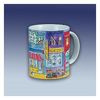 Cermaic Coffee Mug - The Lower East Side