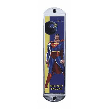 Metal Mezuzah Cover - Superman