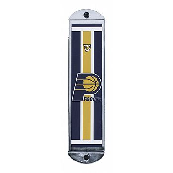 Metal Mezuzah Cover - Indiana Pacers