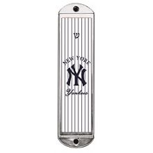 Metal Mezuzah Cover - Yankees