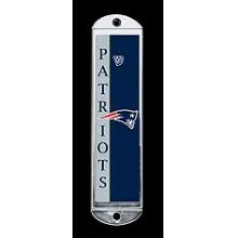 Metal Mezuzah Cover - New England Patriots