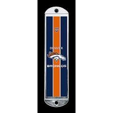 Metal Mezuzah Cover - Denver Broncos