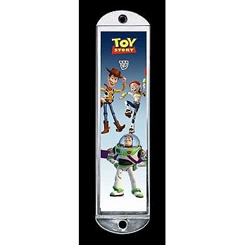 Metal Mezuzah Cover - Toy Story