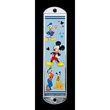 Metal Mezuzah Cover - Mickey Mouse & Friends