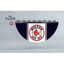 Acrylic and Steel Hanukkah collectors Menorah - Boston Red Sox