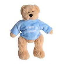 Plush Happy Hanukkah Bear with Sweater