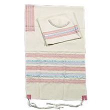 Poly Cotton Tallit Set