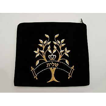 Embroidered Tallit Bag - Tree of Life