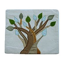 Raw Silk Tallit Bag - Tree of Life