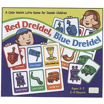 Dreidel Color Match Lotto Game