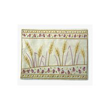 Raw Silk Tefillin Bag - Wheat