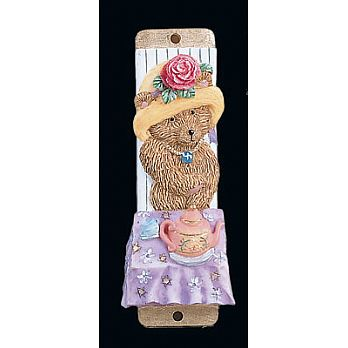 Baby Mezuzah Cover - Teddy Bear
