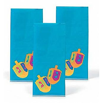 Hanukkah Cello Bags - 12 Pack