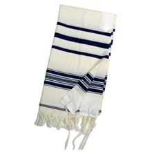 Striped Wool Tallit