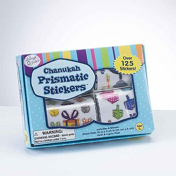 Happy Hanukkah Stickers in a Box
