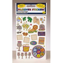 Prismatic Passover Stickers - 2 Sheets