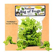Passover Bag of Frogs - Bag of 8