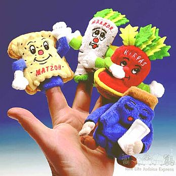 4 Questions Finger Puppets