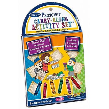 Passover Carry-A-Long Activity Set