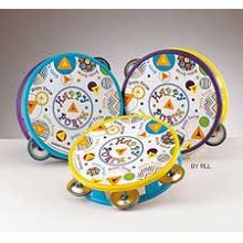 Happy Purim Tambourine