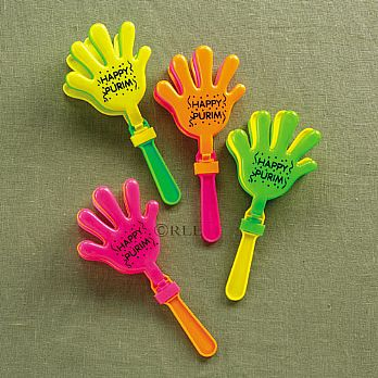 Hand-Clapping Graggers (Noisemakers) - 6 Pack