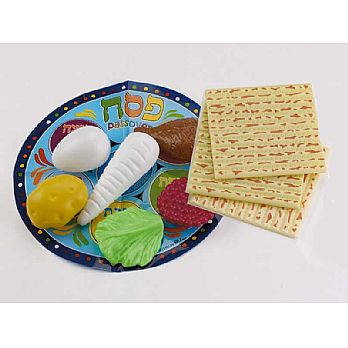 10 Piece Plastic Passover Seder Food Set
