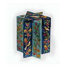 Star of David Crafted Charity Box - Floral