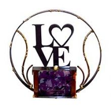 Gary Rosenthal Lasercut Love Wallhanging