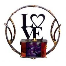 Gary Rosenthal Small Lasercut Love Wallhanging
