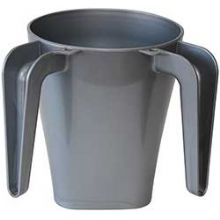Grey Plastic Wash Cup